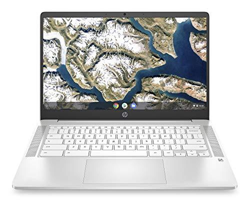 HP Chromebook 14-Inch HD Laptop, Intel Celeron N4000, 4 GB RAM, 32...