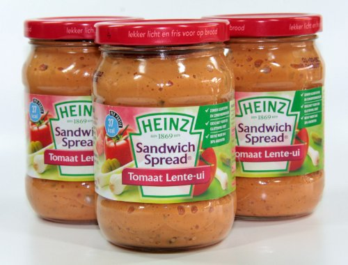 Heinz - Sandwichspread Tomate Schalotte - 3 x 300 Gramm