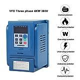 4KW VFD Invertitore Azionamento,AC 380V Trifase Frequenza Inverter Convertitore Professional Variable Frequeza Drive Filtro Incorporato