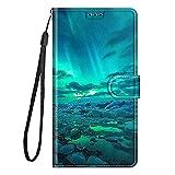 zl one Compatible avec/Remplacement pour Coque Housse Étui Samsung Galaxy J6 (2018) / On6 Flip PU...