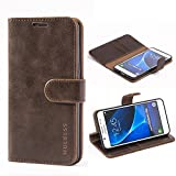Mulbess Samsung Galaxy J5 2016 Case Wallet, Leather Flip