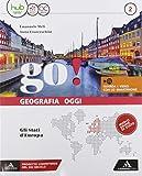 Go! Con Atlante. Per la Scuola media. Gli Stati d'Europa (Vol. 2)