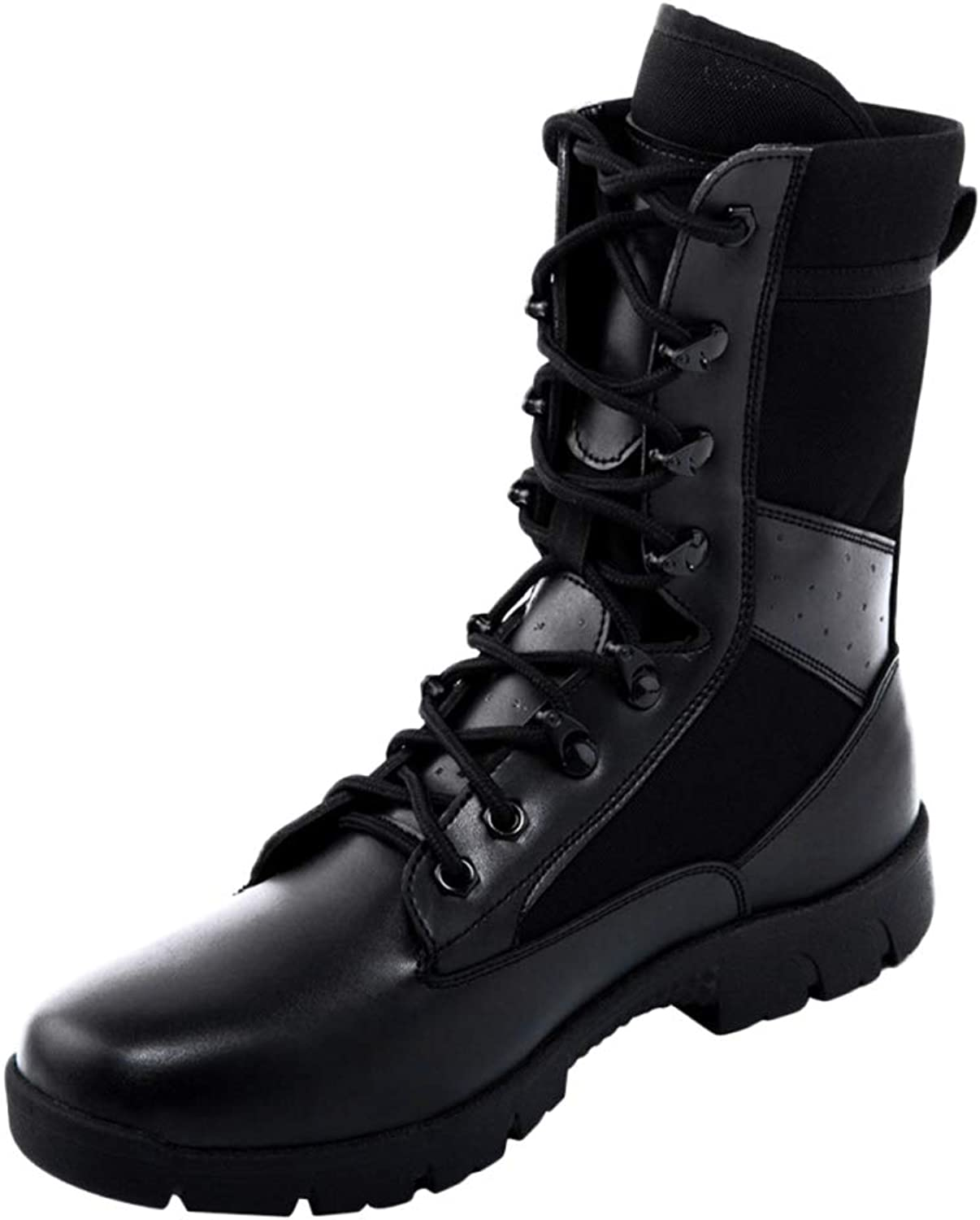 Men Boots Martin Tactical Boots Summer Desert Snow Boots Breathable Work Boots High Help Lightweight Lace-up shoes
