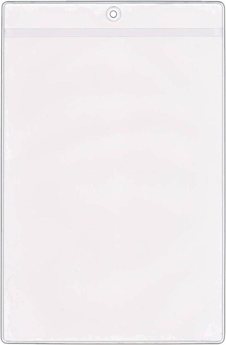 StoreSMART - Sale special price 6 x price 9 Job Holders Plastic Vinyl Ticket 100-Pack