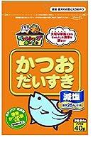 マルトモ 減塩かつおだいすき40g ×10個