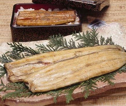 国産(浜名湖?一色)特選うなぎ 長白焼き 特大 約320g(160g×2本) 山椒、蒲焼きのたれ付