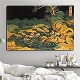KWzEQ Famoso Pintor Wall Art Canvas Poster Moderno Marco de la Pared Sala de Estar decoración del hogar,Pintura sin Marco,50x75cm