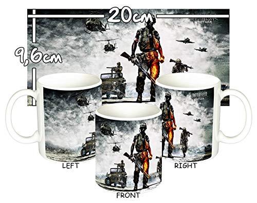 MasTazas Battlefield Bad Company 2 Vietnam Tasse Mug