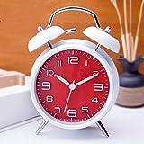 MYYXGS Reloj De Mesa Que Suena El Despertador Reloj Despertador Digital EstéReo Silenciar El Reloj De Alarma Que No Cae