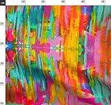 türkis, Streifen, Neon, Regenbogen, boho, Farbverlauf