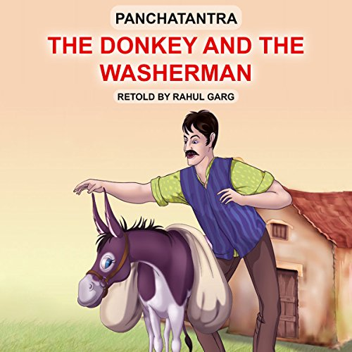 The Donkey and the Washerman audiobook cover art