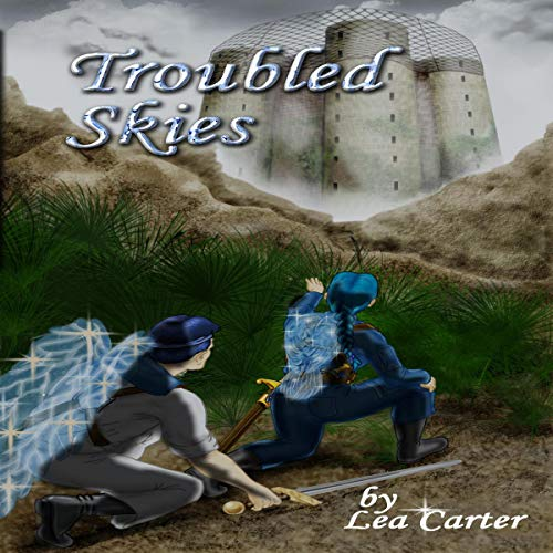 Troubled Skies audiobook cover art