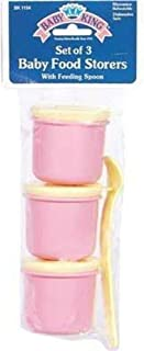 BABYKING 3 STORAGE CONTAINER W/SPOONS
