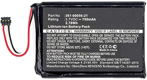 Synergy Max 40% OFF Max 87% OFF Digital Battery Compatible Garmin 361-00056-21 GPS with