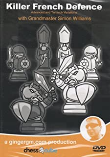Killer French Defense, Parts 1 & 2 - Two Chess DVDs