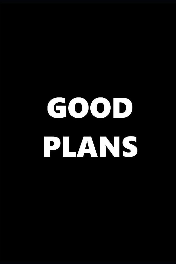 傷つきやすい座る怪しい2019 Weekly Planner Funny Theme Good Plans Black White 134 Pages: 2019 Planners Calendars Organizers Datebooks Appointment Books Agendas
