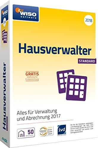 WISO Hausverwalter 2018 Standard Software, Die Rundum-sorglos-Lösung für kleine Hausverwaltungen und Eigentümer