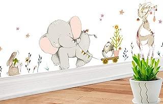 diy nursery mural