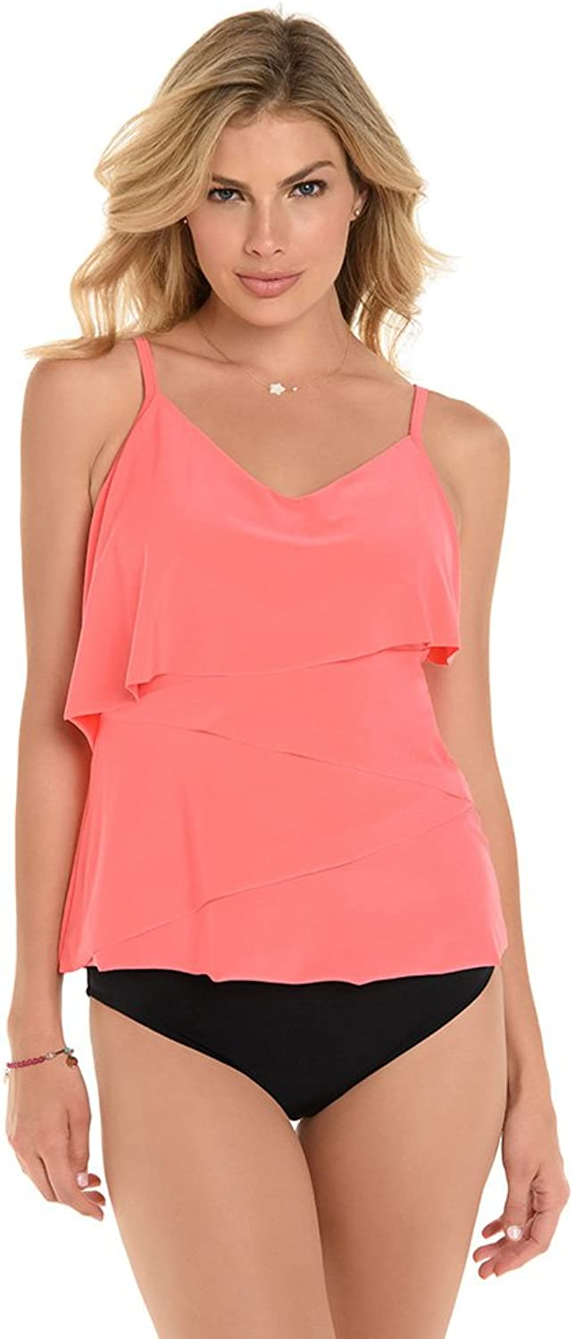 Magic Suit Solids Chloe Tankini Top