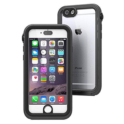 Catalyst Hülle für iPhone 6, Wasserdicht, Aufprallschutz, mit Voller Touch ID, Fall- und Stoßfestigkeitsklasse in eine Militärqualität Premium-Materialqualität, Farbe Schwarz & Space Grey