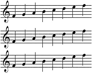 Sheet Music Band Notes - Cake Side Strip - Edible Cake/Cupcake Party Topper - D22683