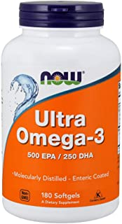 [海外直送品] ナウフーズ ウルトラ オメガ-3 (500EPA/250DHA) 180錠