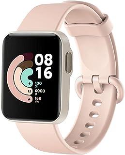 For Xiaomi Mi Watch Lite Strap Replacement Sport Soft Silicone Bracelet For Xiaomi Redmi Watch Smart Watch Band - Pink