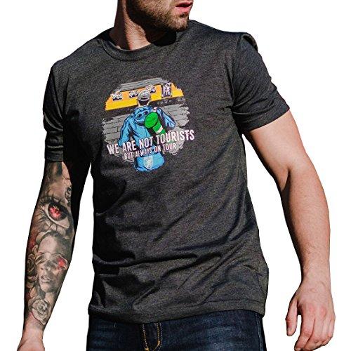 PG Wear T-Shirt Always on Tour grau S-3XL (3XL)
