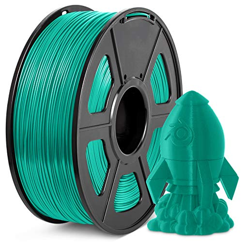 Filamento PLA+ 1.75mm, JAYO Stampante 3D PLA Plus Filamento 1 KG per Bobina, Precisione +/- 0,02 mm, PLA+ Verde erba