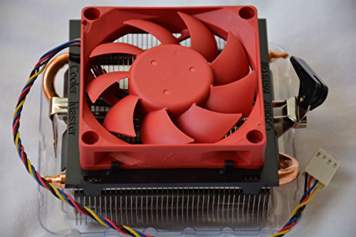 Cooler Master AMD FM2+ / FM2 / FM1 / AM3+ / AM3 / AM2+ / AM2 / 1207 / 940 / 939 / 754 4-Pin Connector CPU Cooler With Aluminum Heatsink With Copper Heatpipes & 2.75-Inch Fan For Desktop PC Computer