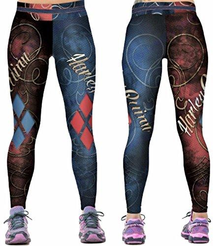 51DJ2M-gQ8L Harley Quinn Yoga Pants