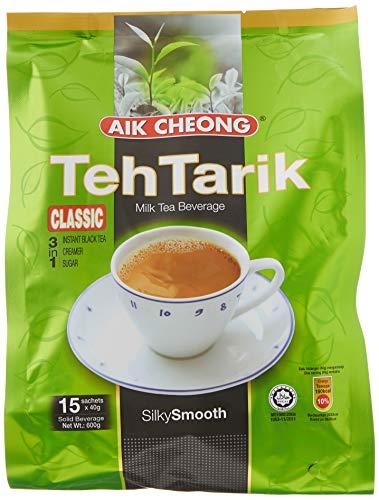 Aik Cheong Instant Teh Tarik - Milk Tea 40g x15 Sachets 600g