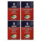 Morton Ice Cream Salt 4lb box (Pack of 4)