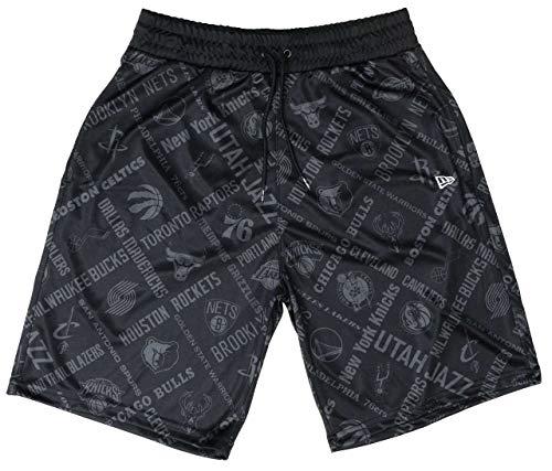 New Era NBA Teams Hose/Pants NBA AOP Shorts Black - M