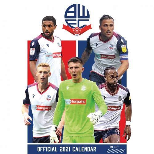 Bolton Wanderers FC Calendar 2021 Official Merchandise
