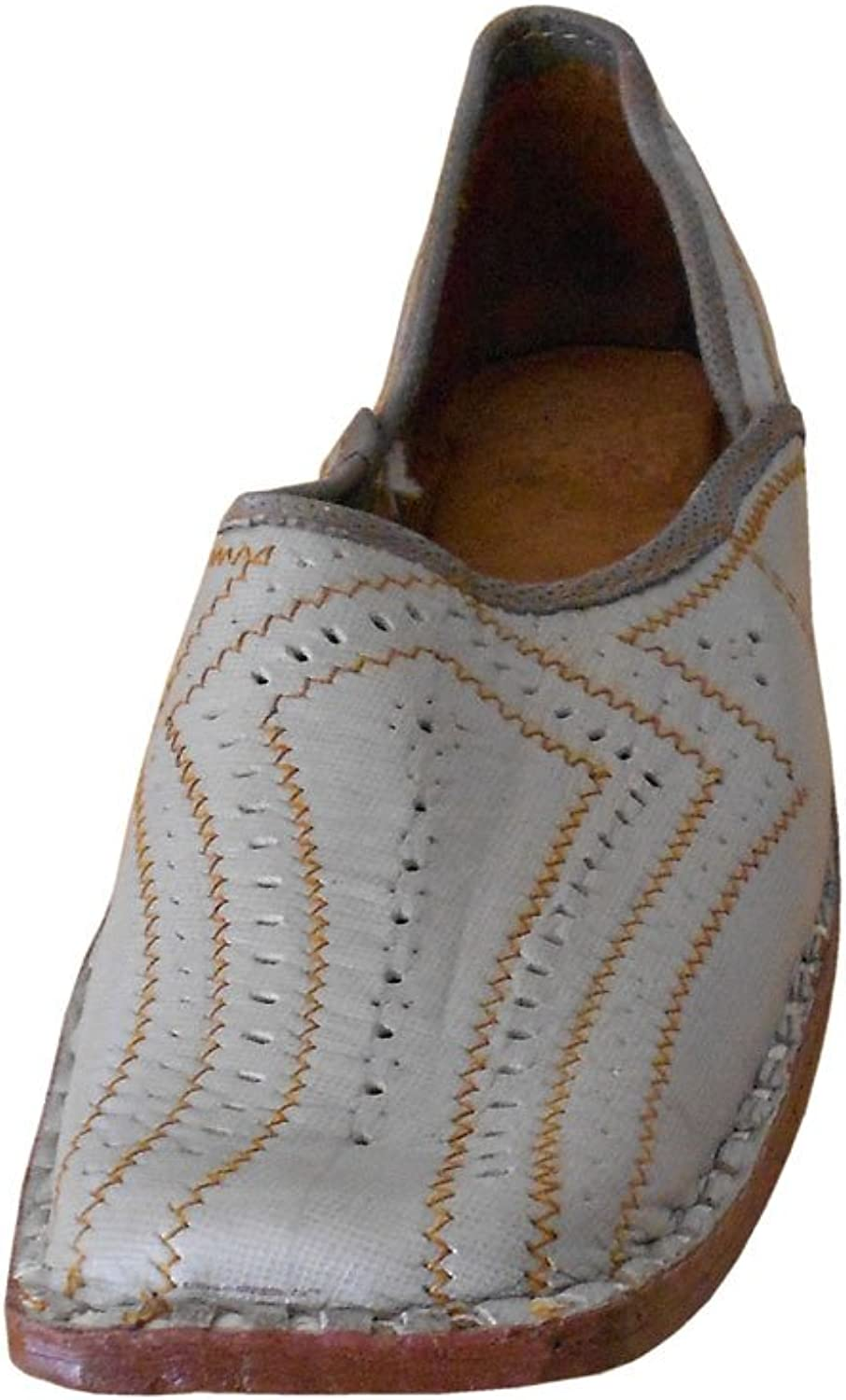 Kalra Creations Men's Traditional Leather Indian Designer shoes