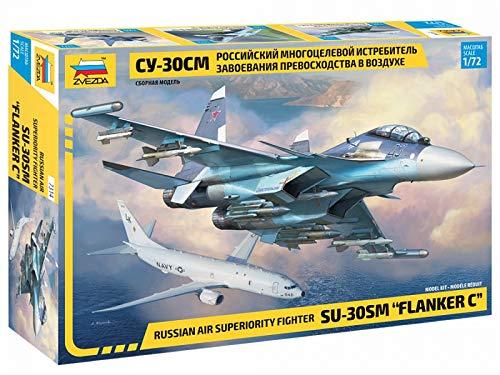 Zvezda 7314 500787314-1:72 Sukhoi SU-30 - Juego de construcción de maqueta para Principiantes (sin lacar)