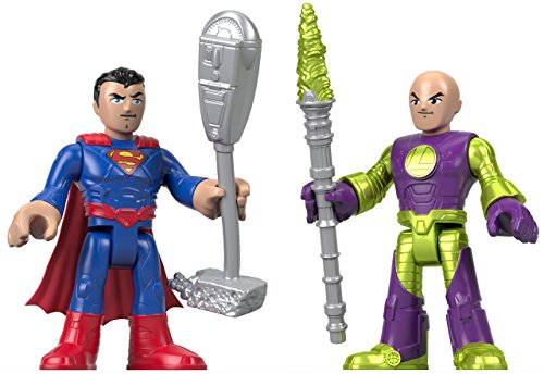 Fisher-Price Imaginext DC Super Friends, Superman & Lex Luthor