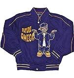 Omega Psi Phi Boys Twill Jacket Medium (5yrs-6yrs Old) Purple