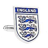 MFYS Jewelry England サッカーイングランド代表 カフス ワールドカップ(カフスボタン・カフリンクス)【専用収納ケース付き】