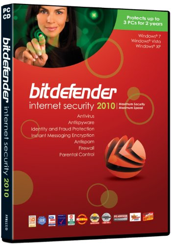 Bitdefender Internet Security 2010 (3 users, 2 years) [import anglais]