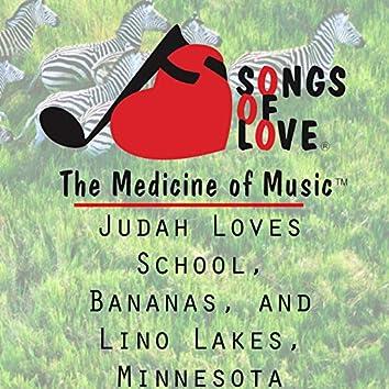 Judah Loves School, Bananas, and Lino Lakes, Minnesota