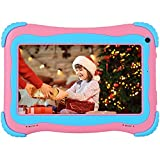 7inch Tablet for Kids 3-14 Android Toddler Tablet 32GB Dual Cameras Tablet Kids APP Preinstalled & Parent Control Kids Tablet WiFi Learning Tablet for Toddlers YouTube Netflix Google Play Store
