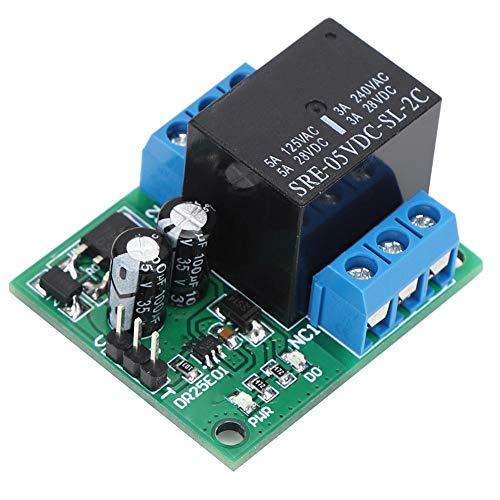 FT VOGUE DR25E01 Módulo de relé DPDT, Doble Polo, Doble Tiro DPDT Motor LED biestable autoblocante Control Inteligente del hogar(DC6-24V)