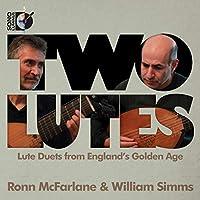 2台のリュート イギリス黄金時代のリュート二重奏曲集
