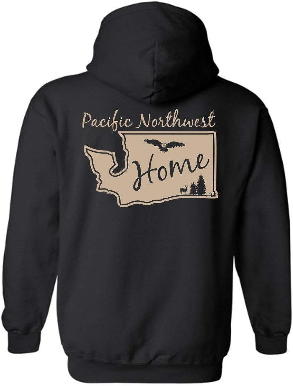 PNW Home State Washington Hoodie