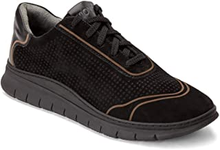 Vionic Women's Riley Casual Sneaker with Microfibre Wrapped EVA Footbed - Fitted with Orthotic Technology to Reduce Over Pronation & Common Heel Pains