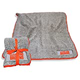 logobrands Cleveland Browns 50'' x 60'' Frosty Fleece Blanket