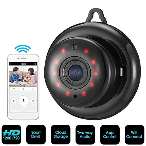 DVCZ 2,1Mm Objektiv 720 P Wireless Mini WiFi Nachtsicht Smart Home Security IP-Kamera Zwei-Wege-Audio-Monitor Baby Monitor