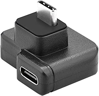 TZOU 3.5mm / USB-C Audio Adapter ABS Black Microphone Converter for DJI OSMO Action Black